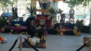 California Museum Setting Up for Day of the Dead